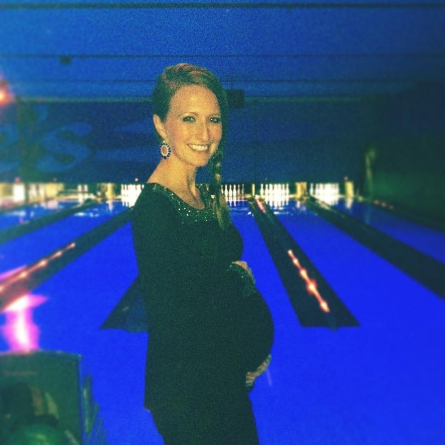 34 Weeks | bowling!