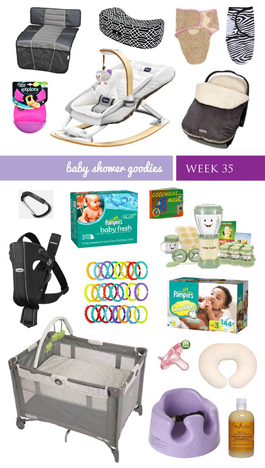 BABY SHOWER GOODS