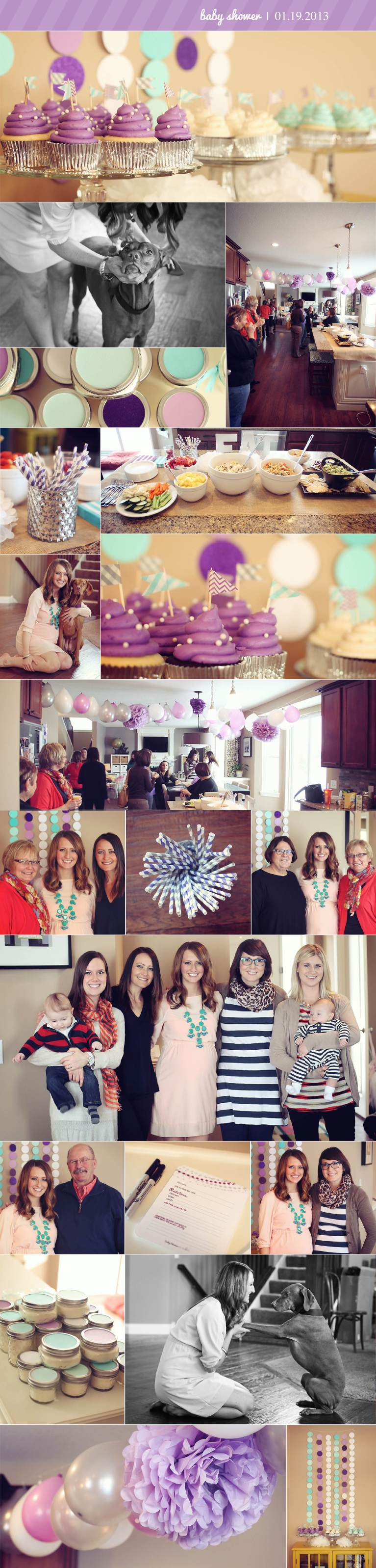 BABY SHOWER PHOTO RECAP