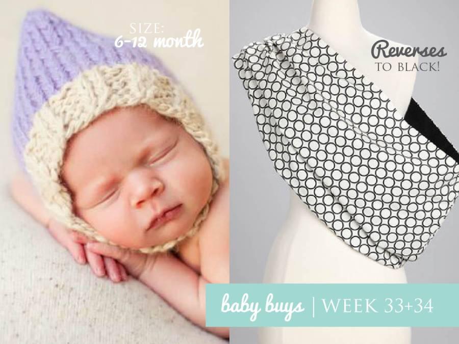 WEEK33-34 BABY BUYS